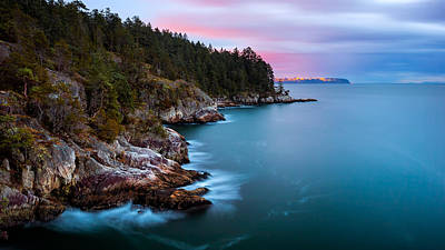 Photograph - Long Exposure Water At Juniper Point by Alexis Birkill