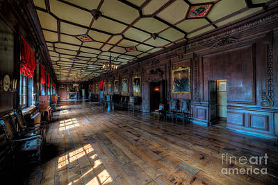 Long Gallery Art Print by Adrian Evans