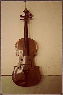 Violins Photograph - Long Gone Saturday Nights by Odd Jeppesen
