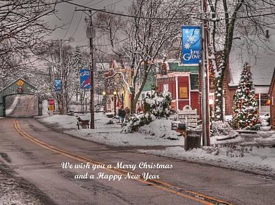 Photograph - Long Grove Christmas by David Bearden