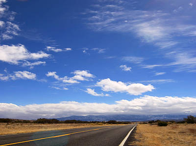 Art Print featuring the photograph Long Highway by Bob Pardue
