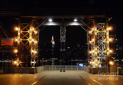 Photograph - Long Island City Pier by Kendall Eutemey