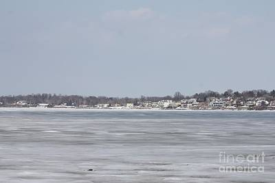 Snow Drifts Photograph - Long Island Frozen In by John Telfer