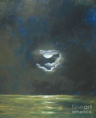 Art Print featuring the painting Long Journey Home by Marlene Book
