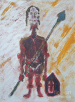 Painting - Long Knight 1 by Richard W Linford
