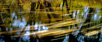 Photograph - Long Lazy Country Stream by Paul W Faust -  Impressions of Light