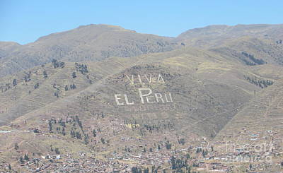 Long Live Peru Art Print