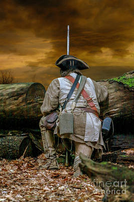 Seven Years War Digital Art - Long Night Late Morning by Randy Steele