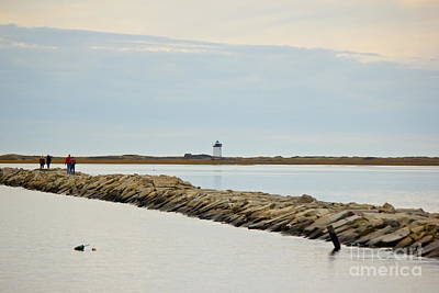Photograph - Long Point Lighthouse by Amazing Jules