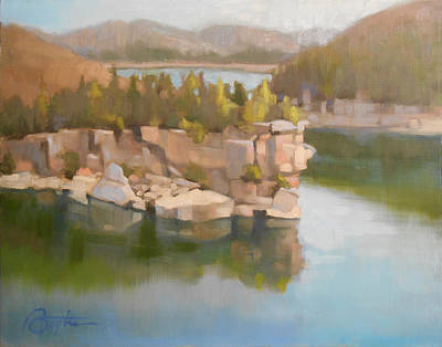 Plain Air Painting - Long Point Study One by Todd Baxter