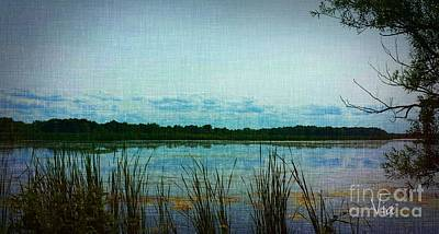 Photograph - Long Pond by Judy Via-Wolff