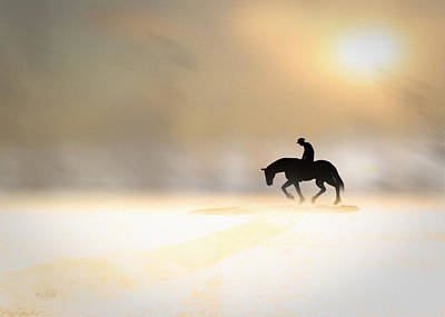 Ghost Riders Photograph - Long Ride Home by Bob Orsillo