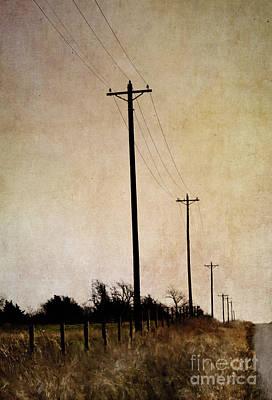 Horizon Line Digital Art - Long Road by Elena Nosyreva