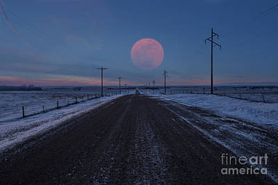Photograph - Long Road Home by Aaron J Groen