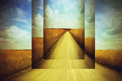 Photograph - Long Road Home  by Ann Powell