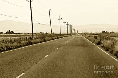 Photograph - Long Road Home by Artist and Photographer Laura Wrede