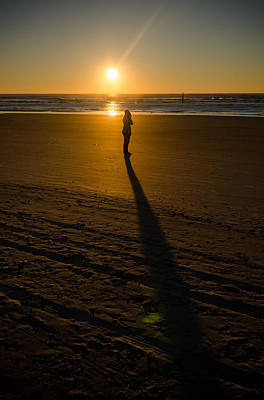 Photograph - Long Shadow At Sunrise by Anthony Doudt