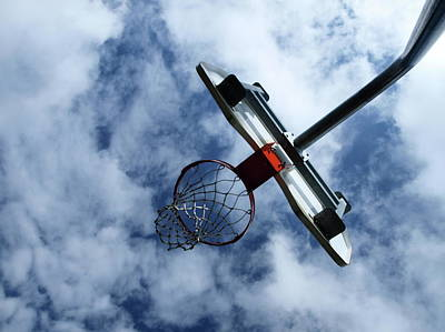 Basketball Abstract Photograph - Long Shot by Tom Druin