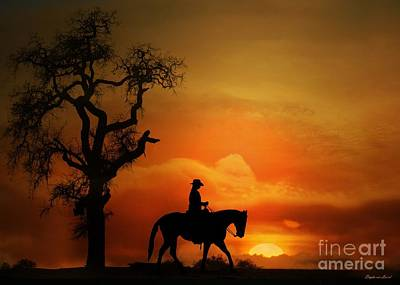 Western Pleasure Photograph - Long Summer Day by Stephanie Laird