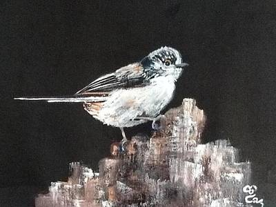 Long-tailed Tit Art Print