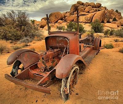 Mining Truck Photograph - Long Term Parking by Adam Jewell