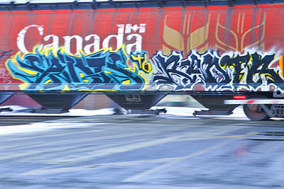 Photograph - Long Train Runnin' by Theresa Tahara