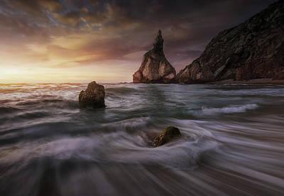Coastline Photograph - Long Ursa. by Juan Pablo De