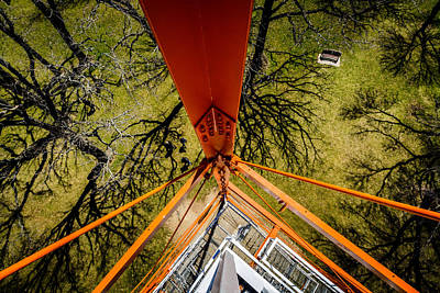 Photograph - Long Way Down by Randy Scherkenbach