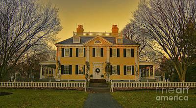 Longfellow House-cambridge Boston Art Print by Douglas Barnard