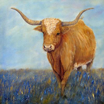Painting - Longhorn by Loretta Luglio