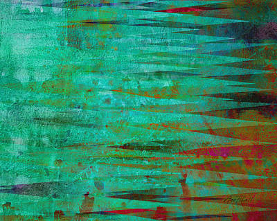Mixed Media - Longing - Abstract - Art by Ann Powell