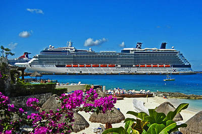Photograph - Longing For Cozumel by Bill Swartwout