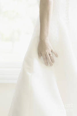 Elegant Engagement Ring Photograph - Longing II by Margie Hurwich