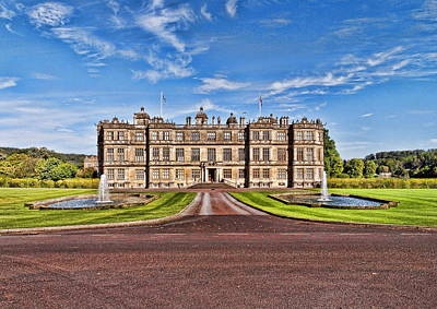 Digital Art - Longleat House by Paul Gulliver