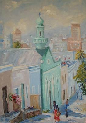 Longmarket Street Capetown Original by Elinor Fletcher