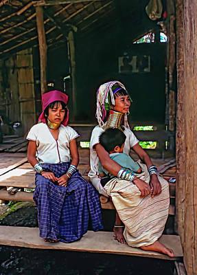 Refugee Girl Photograph - Longneck Beauties by Steve Harrington