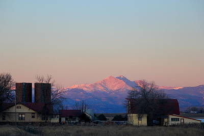 Photograph - Longs Peak Country by Trent Mallett