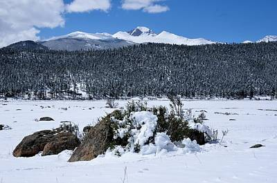 Photograph - Longs Peak From Moraine Park by Tranquil Light  Photography