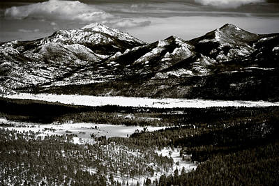 Photograph - Long's Peak II by Roger Passman