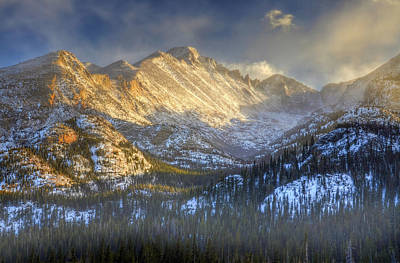 Photograph - Longs Peak In Rocky Mountain National Park by Ken Smith