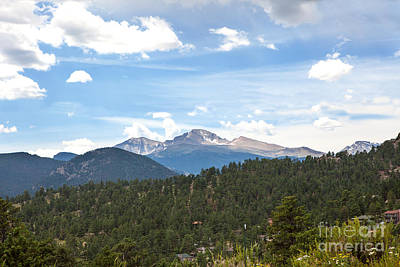 Photograph - Longs Peak by Kay Pickens