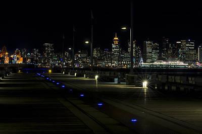 Crosswalk Photograph - Longsdale To Vancouver A Working City by Paul W Sharpe Aka Wizard of Wonders