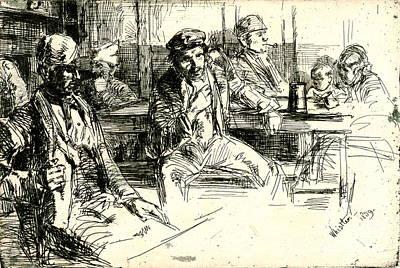 Tankard Photograph - Longshoremen 1859 by Padre Art