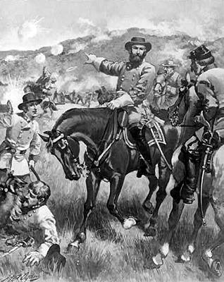 Digital Art - Longstreet At Gettysburg by Henry Alexander Ogden