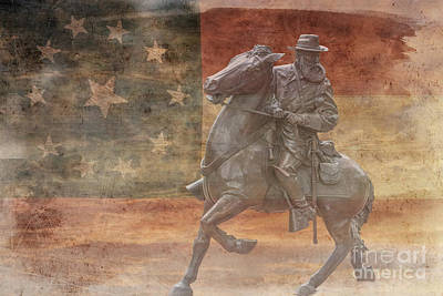 Longstreet  Art Print by Randy Steele