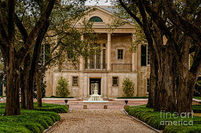 Photograph - Longue Vue Gardens And Path - Nola by Kathleen K Parker