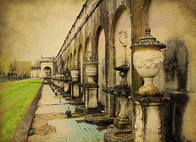 Longwood Gardens Fountains Art Print