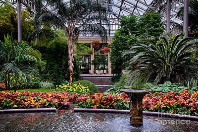 Longwood Gardens Art Print by Ursula Lawrence