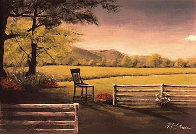 Fineartamerica.com Painting - Lonsesome Chair by Diane Strain