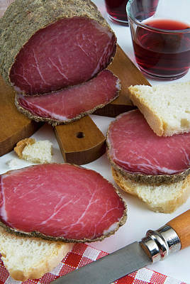 Gastronomy Photograph - Lonza, Pork Loin, Italian Cured Ham by Nico Tondini